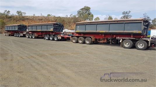 2012 Tristar Tipper Trailer - Trailers for Sale