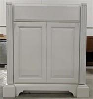 "Exeter Snowdrift 30"" vanity cabinet"