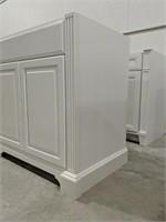 "Exeter Snowdrift 36"" vanity cabinet"