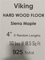 "Viking hardwood floor Sierra maple 4""x random"