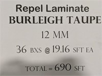 Repel Laminate 12MM 19.16 sft each