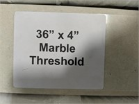 "Marble Threshold 36""x4"