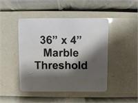 "Marble Threshold 36""x4"""