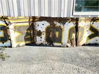 RARE 13 Ft Art Deco Tomboy Grocery Porcelain Sign