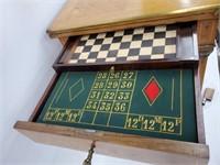 18-19C. French Gambling Multi Gaming Inlaid Table