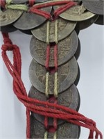 Antique Chinese Guardian Feng Shui Coin Sword
