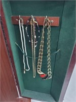 HUGE Jewelry Standing Armoire- 200+ Rings & More
