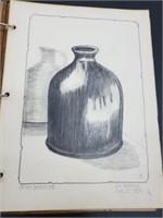 1934 Stout Institute Artist's Drawing Portfolio