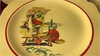 Collection of Homer Laughlin Mexicana Design