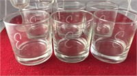 Collection of Clear Glass Barware and Kitchen