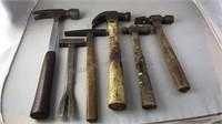 6pcs Vintage Hammers
