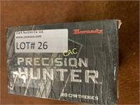 Online ONLY Estate Auction of Ammunition
