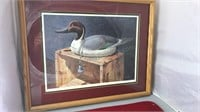 Signed Numbered and Framed James Campbell Mason