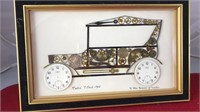 Vintage Framed  John Ammon 1915 Model T Ford