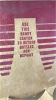 Vintage Canada Dry Cardboard Bottle Carrier