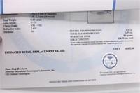 18K 1.57ct Diamond Ring $16,852 Cert  Appraisal