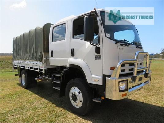 2012 Isuzu FTS 800 4x4 Midcoast Trucks - Trucks for Sale