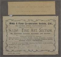 3 pcs. Antique Etching Prints