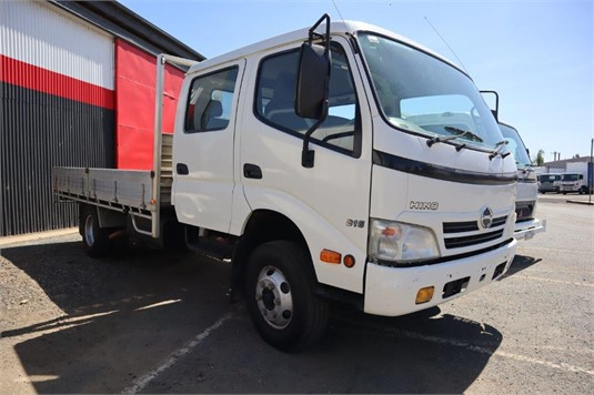 2010 Hino 300 Series 816 Crew - Wrecking for Sale