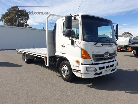 2013 Hino 500 Series 1124 FD Blacklocks Truck Centre  - Trucks for Sale