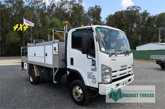 2010 Isuzu NPS 300 4x4 Midcoast Trucks - Trucks for Sale