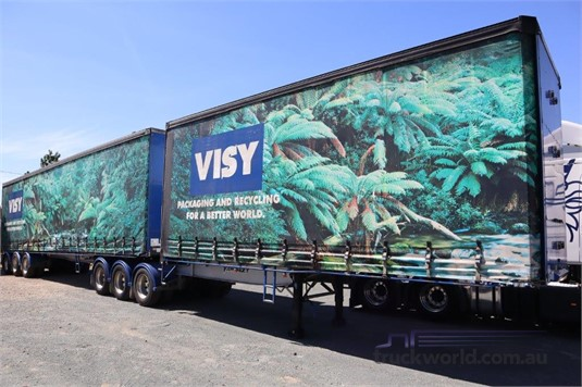 2005 Vawdrey B Double Tautliner / Curtainsider Trailers - Trailers for Sale