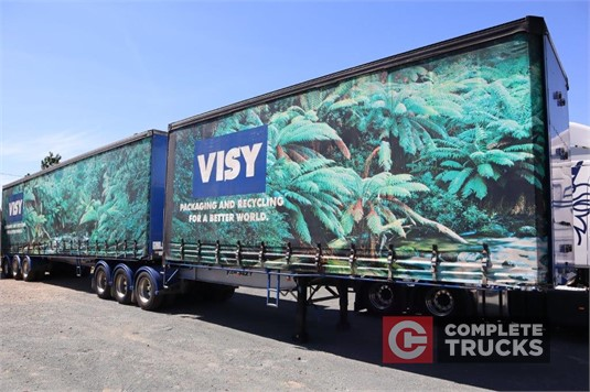 2005 Vawdrey B Double Tautliner / Curtainsider Trailers Complete Equipment Sales Pty Ltd - Trailers for Sale