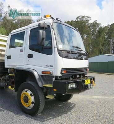 2004 Isuzu FTS 750 4x4 Dual Cab Midcoast Trucks - Trucks for Sale