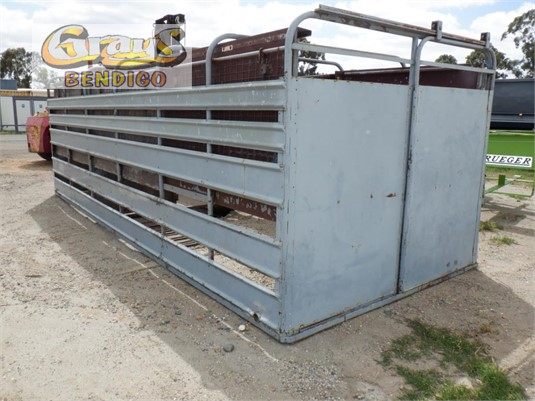 1990 Unknown Stock Crate Grays Bendigo  - Trailers for Sale