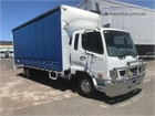 2016 Mitsubishi Fuso FIGHTER 1024 Tautliner / Curtainsider