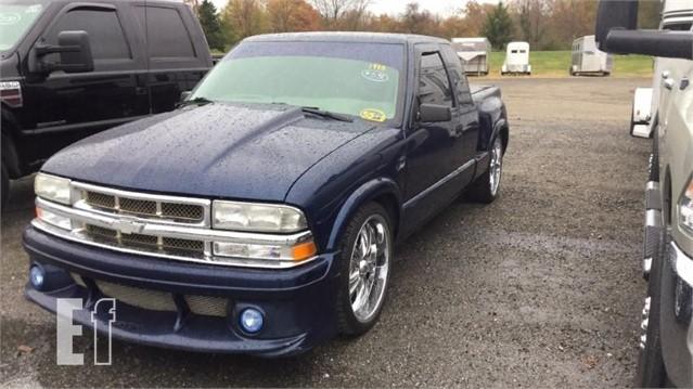 Equipmentfacts Com 1998 Chevrolet S10 Online Auctions