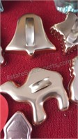 Collection of Vintage and Antique Cookie Cutters