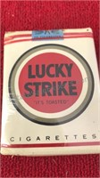 Vintage Cigarette Collection Lucky Strike and