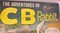 1977 Adventures of CB Rabbit Giant Story Coloring