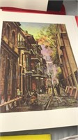 Collection of Vintage New Orleans Unframed Prints