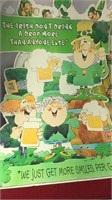 "3pcs Large Scale St Patrick's Day Decor 32"" Tall"