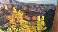 Framed and Signed Pat Clay Grand Canyon Scene