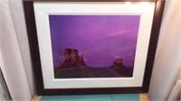 "Framed Print Rodney Lough Jr ""The Mittens"" 30x26"""