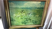 Framed Signed Wildlife / Landscape Print  36x30""
