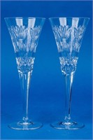 """Waterford """"Prosperity"""" Flute Millennium Collection"""