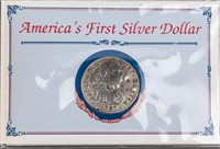 Coin America's First Silver Dollar in Presentation