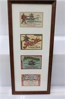 1880-1920 Anheuser Busch Beer Bottle Labels