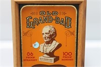 Old Grand-Dad Kentucky Whiskey Thermometer Sign