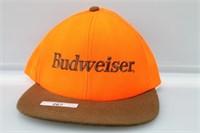 Safety Orange Budweiser Liscened Hat