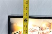 Miller High Life Illuminated Menu Board Promo Sign