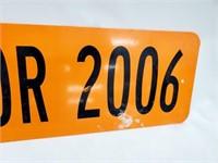 Senior 2006 Metal Street Sign