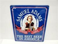 Samuel Adams Lager Metal Wall Sign