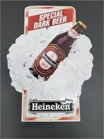 Heineken Special Dark Beer Metal Promo Wall Sign