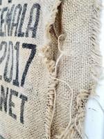 Mercon Coffee Bean Used Advertising Burlap Sack