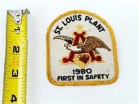 1980 St. Louis Anheuser Busch Saftey Patch